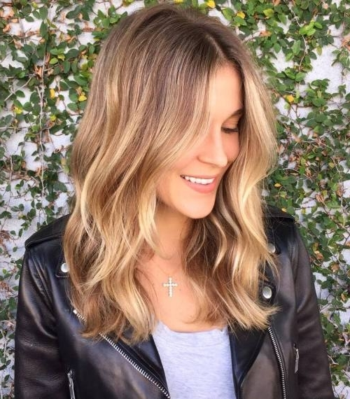 45 Balayage Hairstyles 2018 – Balayage Hair Color Ideas With Blonde Within Medium Blonde Balayage Hairstyles (View 24 of 25)