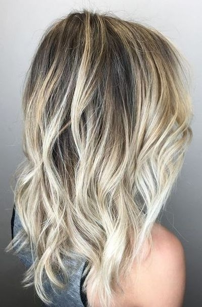 45 Beach Blonde Hairstyles You Can Try All Year Round Regarding Blonde Ombre Waves Hairstyles (View 9 of 25)