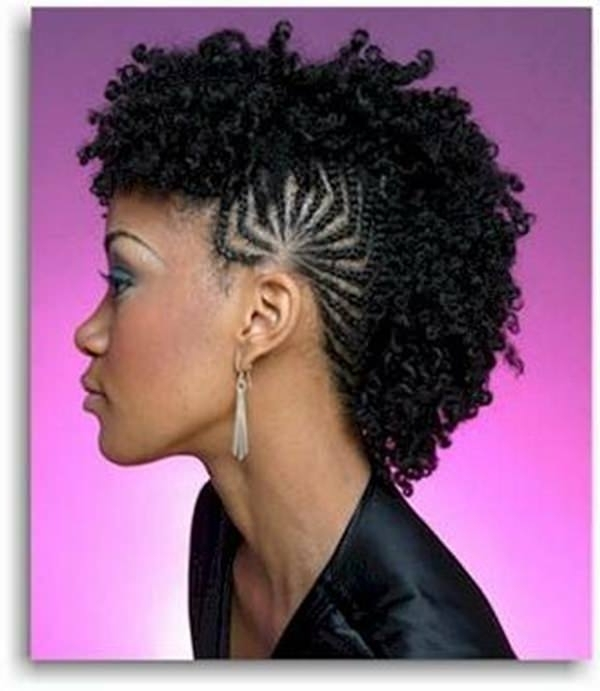 45 Fantastic Braided Mohawks To Turn Heads And Rock This Season Regarding Braided Hawk Hairstyles (View 3 of 25)