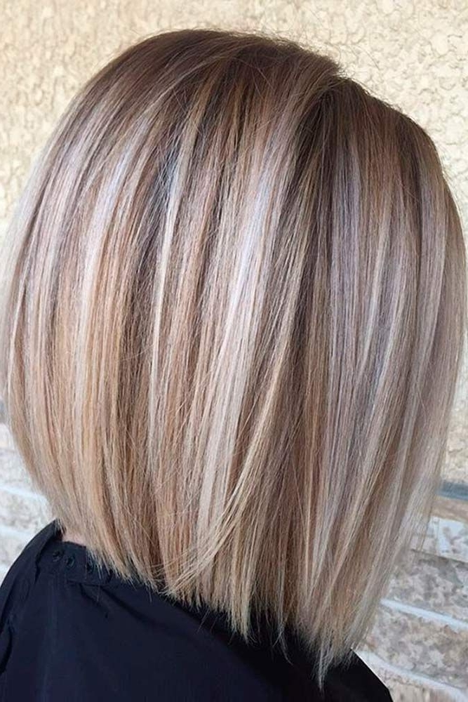 45 Fantastic Stacked Bob Haircut Ideas | Hair & Make Up | Pinterest Regarding Messy Blonde Lob With Lowlights (View 10 of 25)