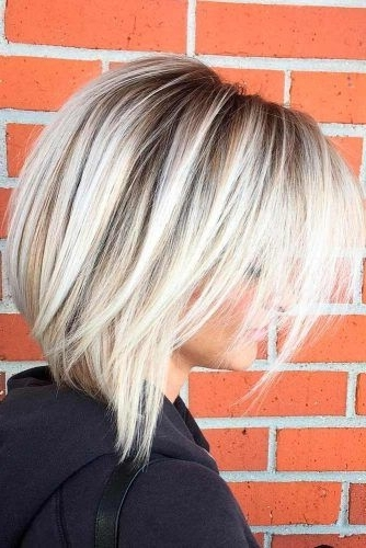 45 Fantastic Stacked Bob Haircut Ideas | Hair | Pinterest | Bob Cut Intended For Solid White Blonde Bob Hairstyles (View 9 of 25)