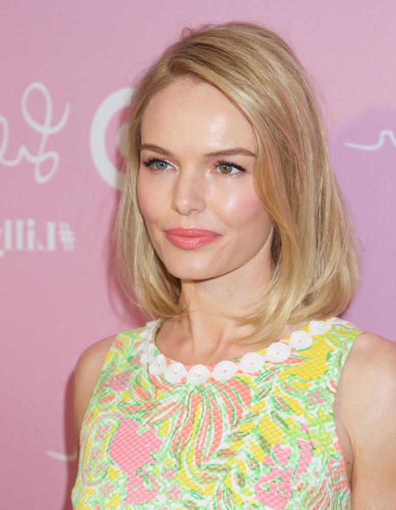 45 Gorgeous Celebrity Lob And Long Bob Haircuts To Inspire Your Look With Ash Blonde Lob With Subtle Waves (View 10 of 25)