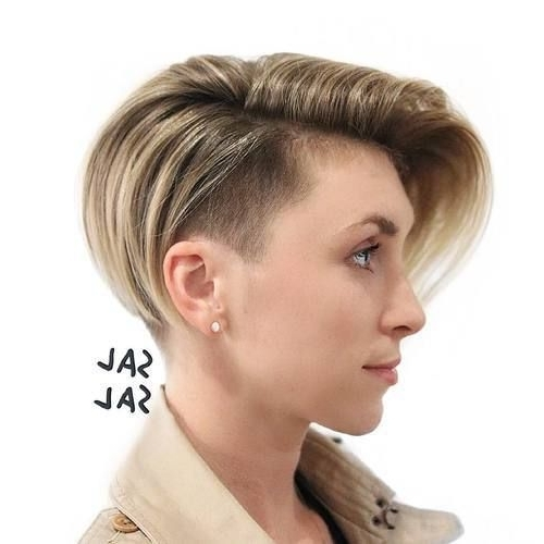 45 Gorgeous Long Pixie Hairstyles | Hairstyle | Pinterest | Pixie Inside Best And Newest Pixie Bob Hairstyles With Temple Undercut (View 2 of 25)