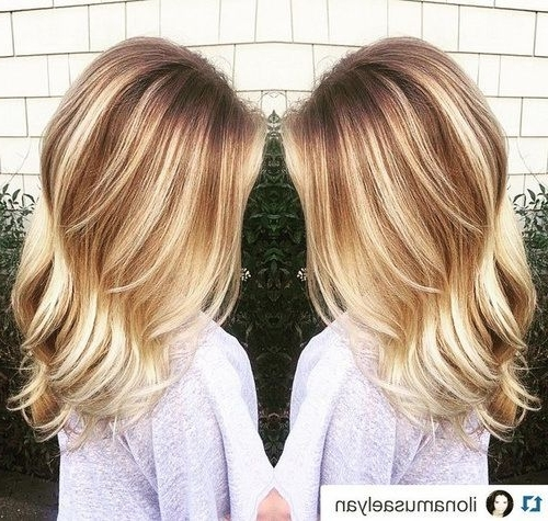 45 Ideas For Light Brown Hair With Highlights And Lowlights | Light In Light Golden Blonde With Platinum Highlights (View 13 of 25)