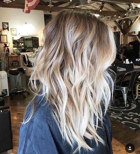 45+ Medium Blonde Ombre Hair Ideas – Blonde Hairstyles 2017 With Blonde Ombre Waves Hairstyles (View 10 of 25)