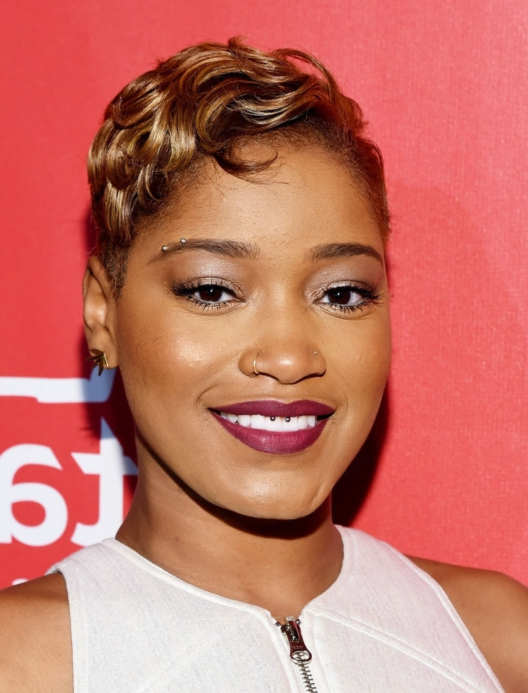 45 Ravishing African American Short Hairstyles And Haircuts – Page 3 Inside Best And Newest Ravishing Red Pixie Hairstyles (View 17 of 25)