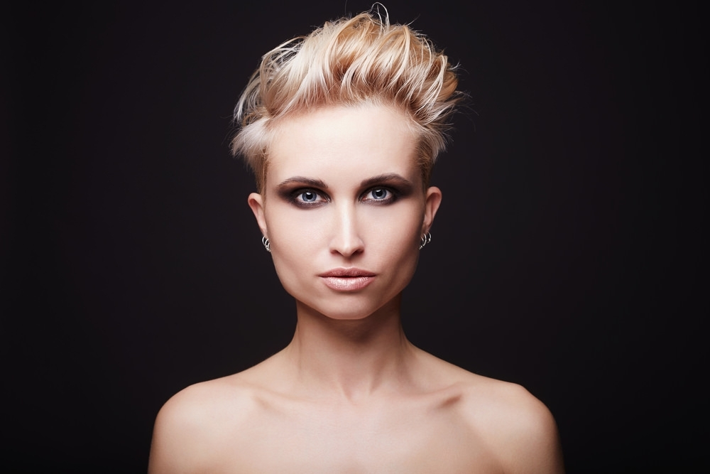 45 Short Hairstyles & Cuts For Fine Hair In 2018 (Women) For Latest Rocker Pixie Hairstyles (View 21 of 25)