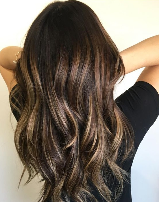 45 Sunny And Sophisticated Brown With Blonde Highlight Looks For Brunette Hairstyles With Dirty Blonde Ends (View 14 of 25)