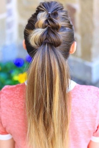 46 Cute Girls Hairstyles For Your Little Princess – My Stylish Zoo With Regard To Princess Like Ponytail Hairstyles For Long Thick Hair (View 17 of 25)