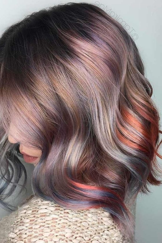 46 Shoulder Length Layered Hairstyles To Drive You Crazy | Hair With Regard To Latest Pastel And Ash Pixie Hairstyles With Fused Layers (View 12 of 25)