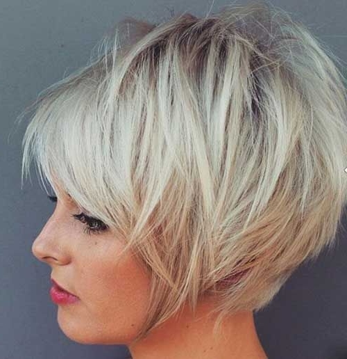 47 Amazing Pixie Bob Hairstyles You Can Try This Summer! – Hairstyle Within Best And Newest Stacked Pixie Hairstyles With V Cut Nape (View 22 of 25)