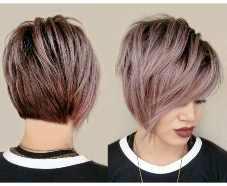 47 Amazing Pixie Bob You Can Try Out This Summer! In Most Popular Side Parted Silver Pixie Bob Hairstyles (View 23 of 25)