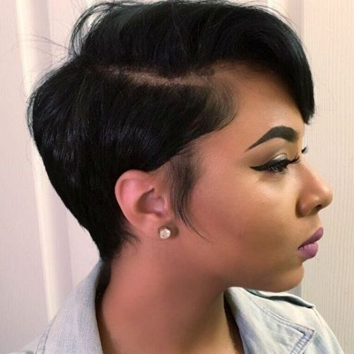47 Amazing Pixie Bob You Can Try Out This Summer! Within Best And Newest Choppy Side Parted Pixie Bob Hairstyles (View 11 of 25)