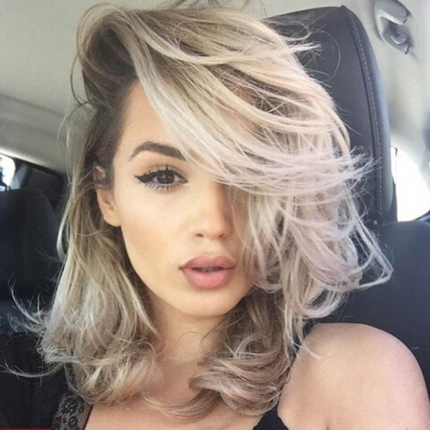 47 Hot Long Bob Haircuts And Hair Color Ideas   Page 2 Of 5   Stayglam Inside Messy Blonde Lob Hairstyles (View 25 of 25)
