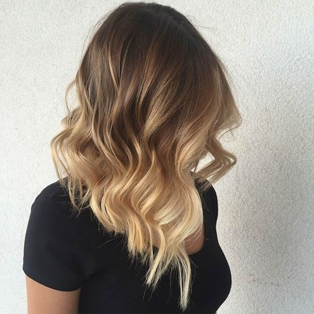 47 Hot Long Bob Haircuts And Hair Color Ideas | Page 2 Of 5 | Stayglam Throughout Caramel Blonde Lob With Bangs (View 14 of 25)
