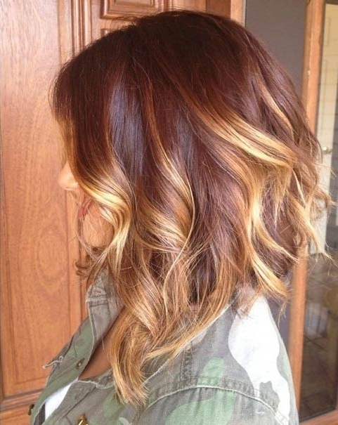 47 Hot Long Bob Haircuts And Hair Color Ideas   Stayglam With Long Bob Blonde Hairstyles With Babylights (View 12 of 25)