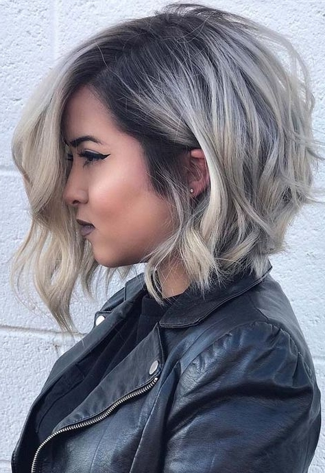 48 Attractive Long Bob Blonde Haircuts For 2018 | Hair Styles Within Dark And Light Contrasting Blonde Lob Hairstyles (View 15 of 25)