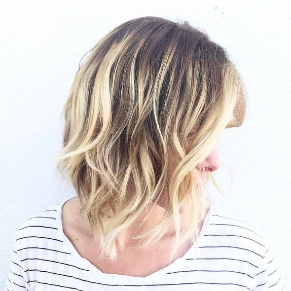 48 Ombre Hair Color Ideas We're Obsessed With – Thefashionspot Intended For Grown Out Platinum Ombre Blonde Hairstyles (View 22 of 25)