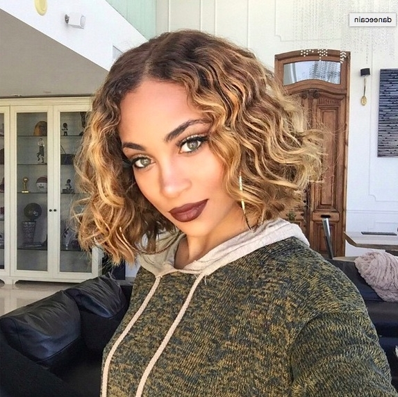 48 Ombre Hair Color Ideas We're Obsessed With – Thefashionspot Pertaining To Brown To Blonde Ombre Curls Hairstyles (View 6 of 25)