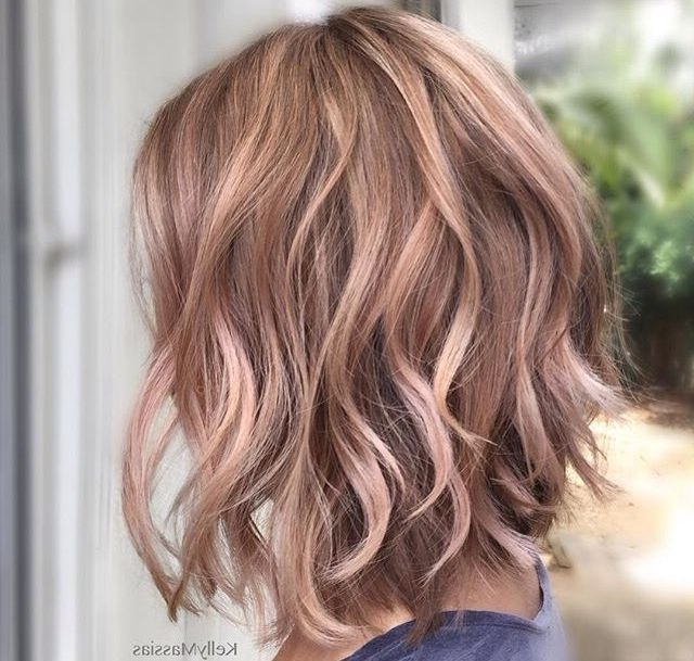 497 Best Hair Images On Pinterest | Hair Cut, Hairstyle Ideas And In Pearl Blonde Bouncy Waves Hairstyles (View 10 of 25)