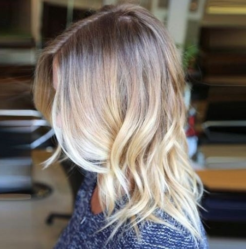 5 Blonde Ombre Hair To Charge Your Look With Radiance – Hairstyle For Dishwater Waves Blonde Hairstyles (View 13 of 25)