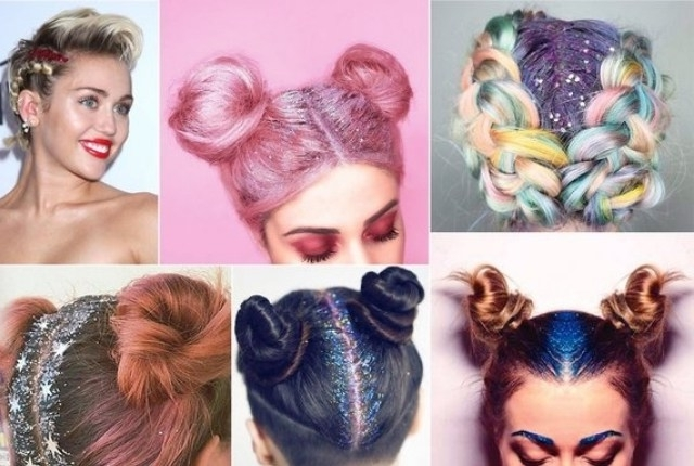 5 Dazzling Glitter Hairstyles For Women   Style Presso Throughout Glitter Ponytail Hairstyles For Concerts And Parties (View 6 of 25)
