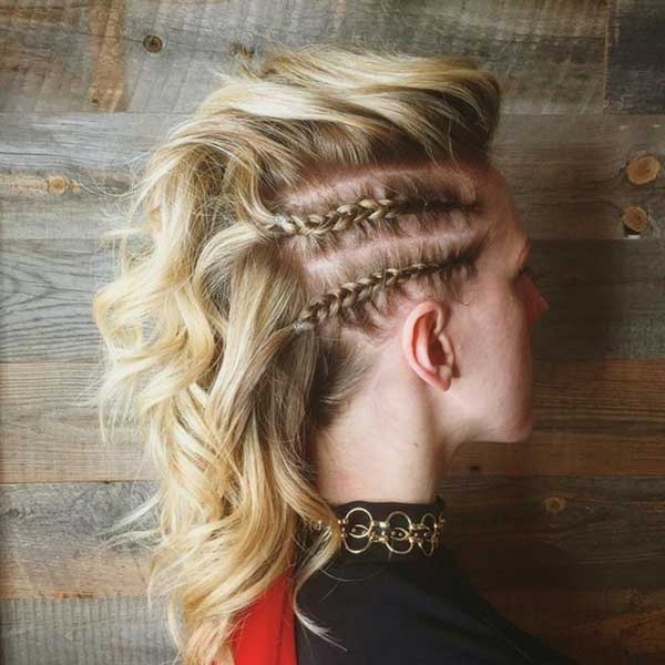 5 Glam Hair Ideas For New Year's Eve | Uptown Dallas Hair Salon With Regard To Fierce Faux Mohawk Hairstyles (View 21 of 25)