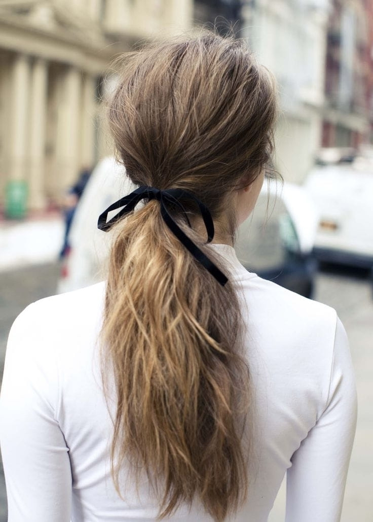 5 Hair Accessories To Dress Up Your Ponytail | Beauty Within Classy Flower Studded Pony Hairstyles (View 15 of 25)