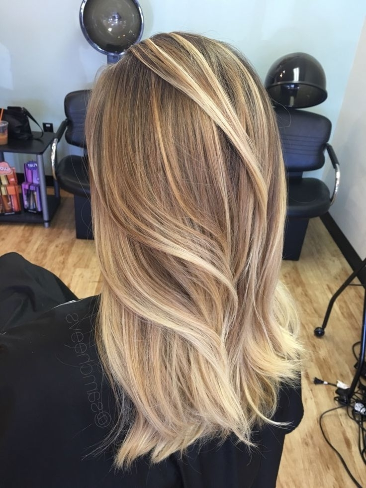 50 Amazing Blonde Balayage Haircolor #blondehairstylesdirty | Blonde With Regard To Cool Dirty Blonde Balayage Hairstyles (View 22 of 25)