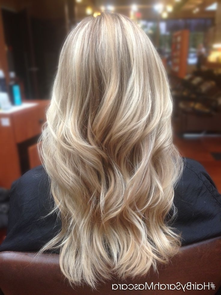 50 Amazing Long Hairstyles & Cuts 2018 – Easy Layered Long Hairstyles Regarding Long Platinum Locks Blonde Hairstyles (View 7 of 25)