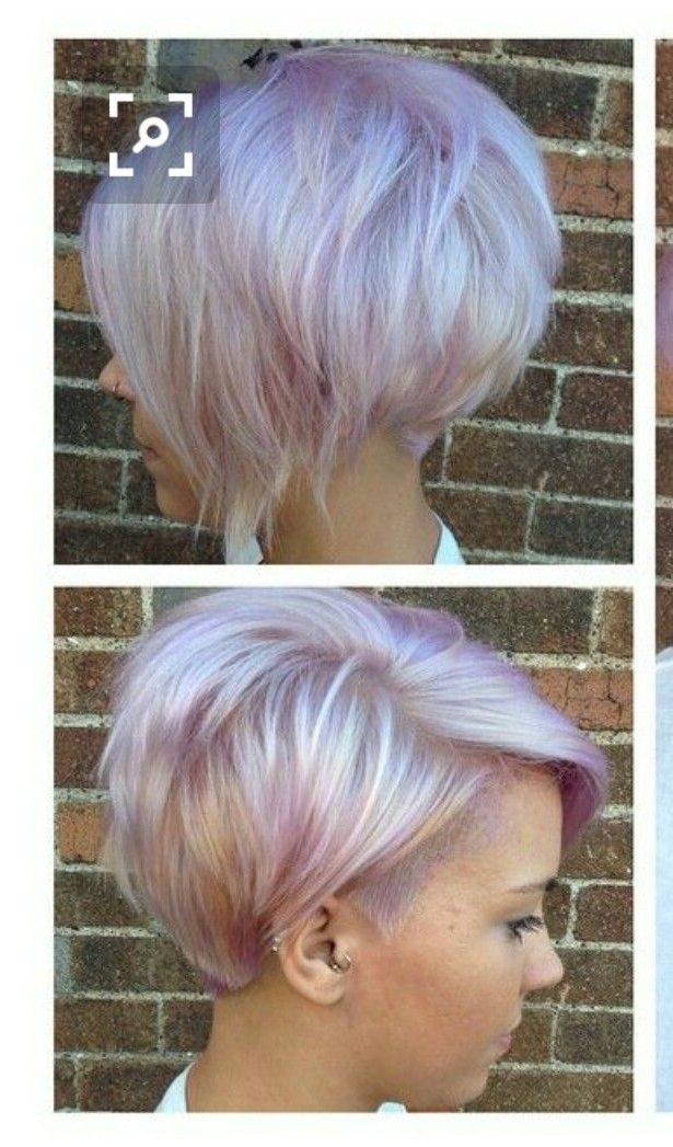 50 Awesome Pixie Haircut For Thick Hair | Hairstyles Ideas With Most Up To Date Lavender Pixie Bob Hairstyles (View 2 of 25)