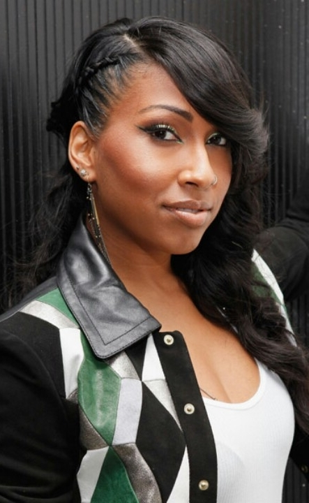 50 Best Black Braided Hairstyles – Hairstyle Insider With Side Braided Sleek Pony Hairstyles (View 20 of 25)