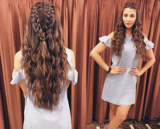 50 Best Indian Hairstyles You Must Try In 2018 Regarding Entwining Braided Ponytail Hairstyles (View 13 of 25)
