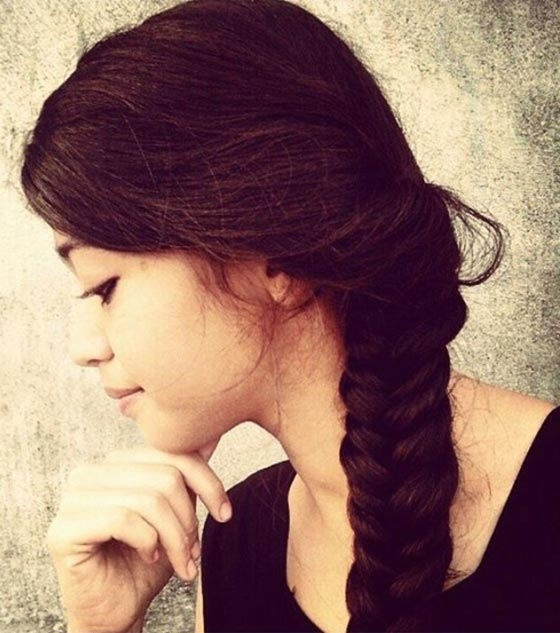 50 Best Indian Hairstyles You Must Try In 2018 With Entwining Braided Ponytail Hairstyles (View 22 of 25)