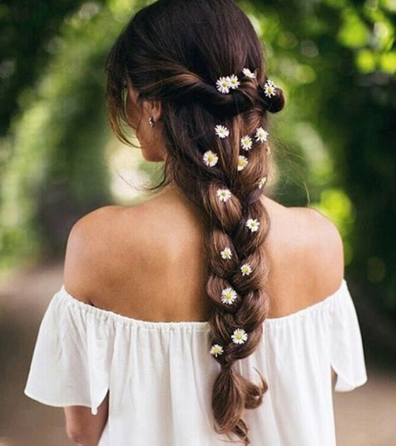 50 Best Indian Hairstyles You Must Try In 2018 With Regard To Entwining Braided Ponytail Hairstyles (View 9 of 25)