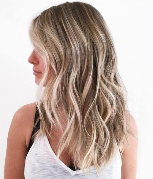 50 Blonde Hair Color Ideas For The Current Season | Beach Waves For Bronde Beach Waves Blonde Hairstyles (View 3 of 25)