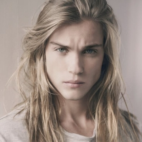 50 Blonde Hairstyles For Men – Men Hairstyles World For Long Platinum Locks Blonde Hairstyles (View 12 of 25)