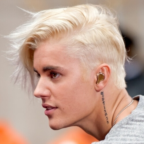 50 Blonde Hairstyles For Men – Men Hairstyles World In Fade To White Blonde Hairstyles (View 15 of 25)
