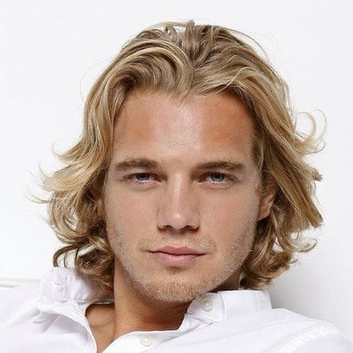 50 Blonde Hairstyles For Men – Men Hairstyles World Inside White Blonde Hairstyles With Dark Undercut (View 18 of 25)