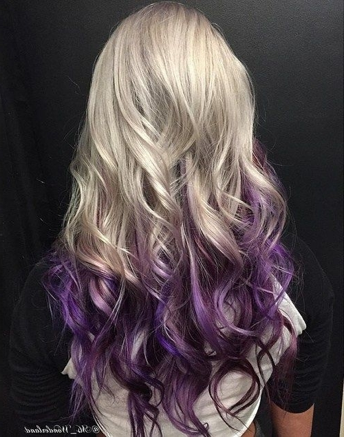 50 Cool Ideas Of Lavender Ombre Hair And Purple Ombre | Ombre Hair Pertaining To Blonde Bob Hairstyles With Lavender Tint (View 21 of 25)
