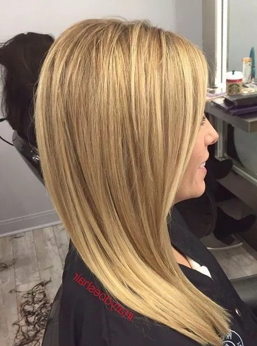 50 Current Blonde Hair Color Inspirations – Page 44 Of 49 – Fallbrook247 With Regard To Tortoiseshell Straight Blonde Hairstyles (View 17 of 25)