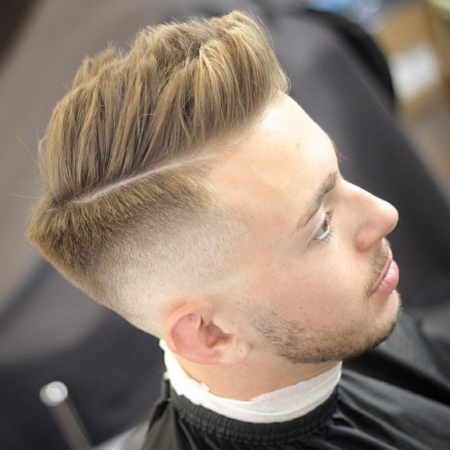 50 Delightful White Guy Fade Ideas – [Trendy Haircuts 2018] Throughout Fade To White Blonde Hairstyles (View 10 of 25)