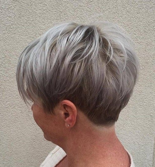 "50 Edgy, Shaggy, Messy, Spiky, Choppy Pixie Cuts [ ""short Ash Blonde Intended For Current Choppy Gray Pixie Hairstyles (View 5 of 25)"
