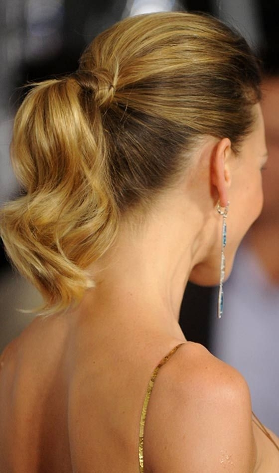 50 Fabulous Bridal Hairstyles For Short Hair | Pinterest | Bridal Throughout Fabulous Bridal Pony Hairstyles (View 5 of 25)