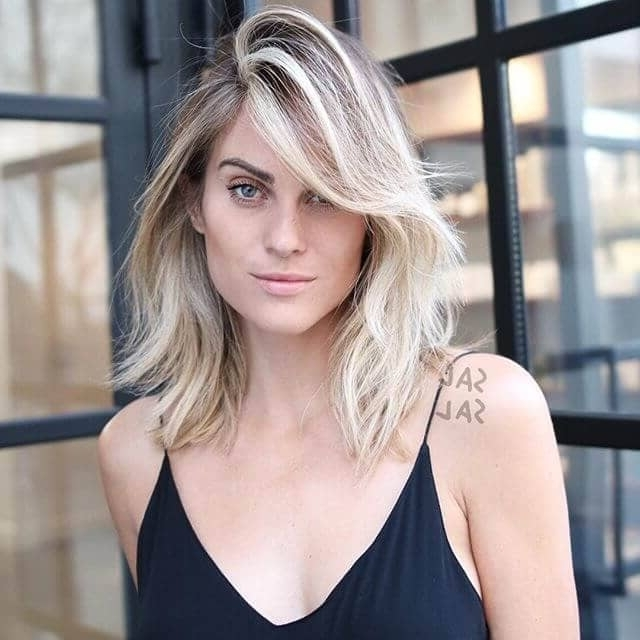 50 Fresh Hairstyle Ideas With Side Bangs To Shake Up Your Style For Soft Layers And Side Tuck Blonde Hairstyles (View 13 of 25)