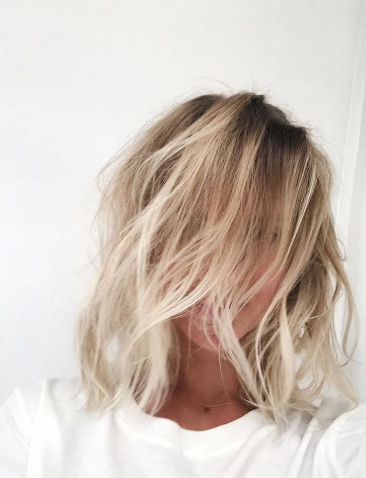 50 Fresh Short Blonde Hair Ideas To Update Your Style In 2018 With Regard To Icy Waves And Angled Blonde Hairstyles (View 21 of 25)