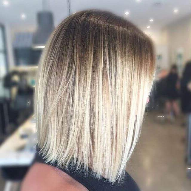 50 Fresh Short Blonde Hair Ideas To Update Your Style In 2018 Within Rooty Long Bob Blonde Hairstyles (View 22 of 25)