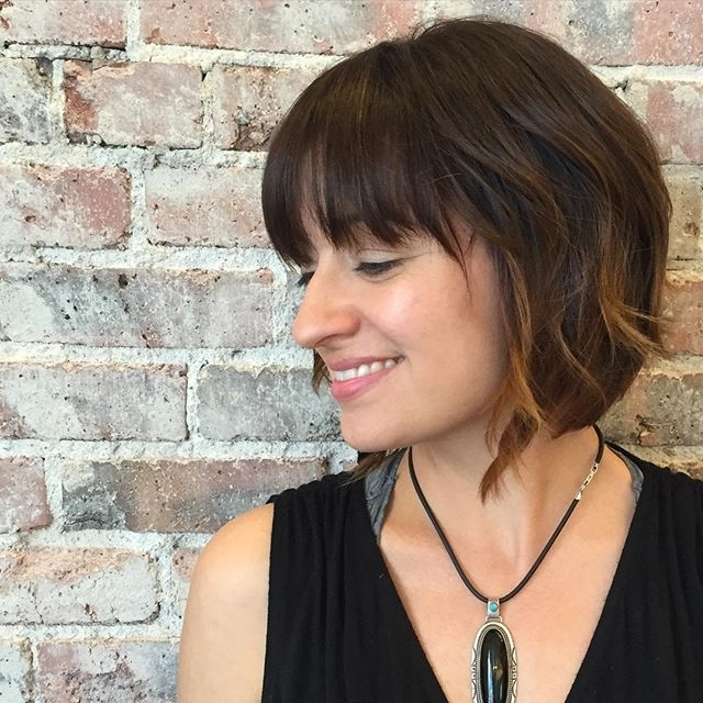 50 Hottest Bob Haircuts & Hairstyles For 2018 – Bob Hair Regarding Angled Wavy Lob Blonde Hairstyles (View 15 of 25)