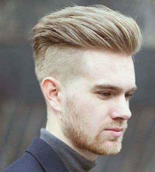 50 Men's Undercut Hairstyles To Grab Focus Instantly With Regard To Long Top Undercut Blonde Hairstyles (View 14 of 25)