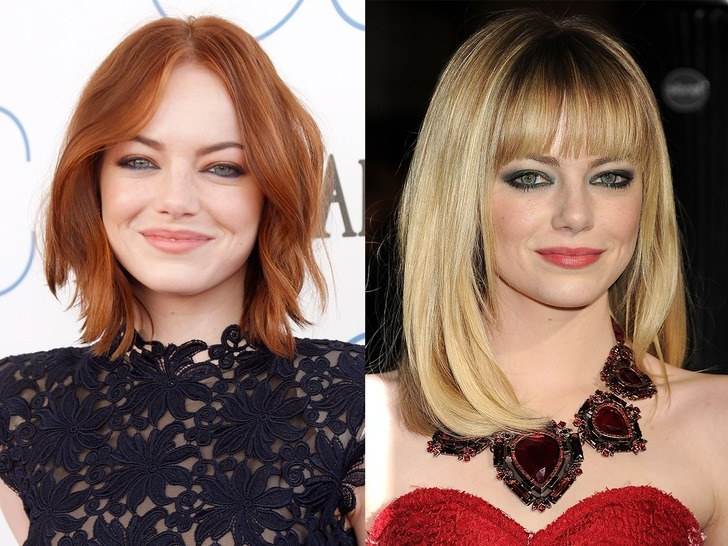 50 Of Emma Stone's Best Red Carpet Hairstyles | Self Regarding Red Carpet Worthy Hairstyles (View 6 of 25)